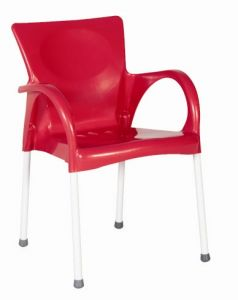 EFCA 9947 -Plastic Chair w Steel Leg